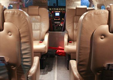 executive interior aircraft